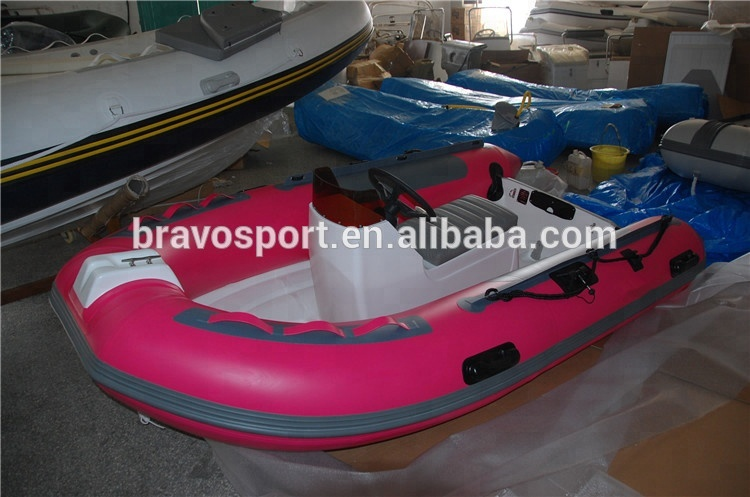 CE China Hypalon China PVC Fishing Fiberglass Work Boats For Sale