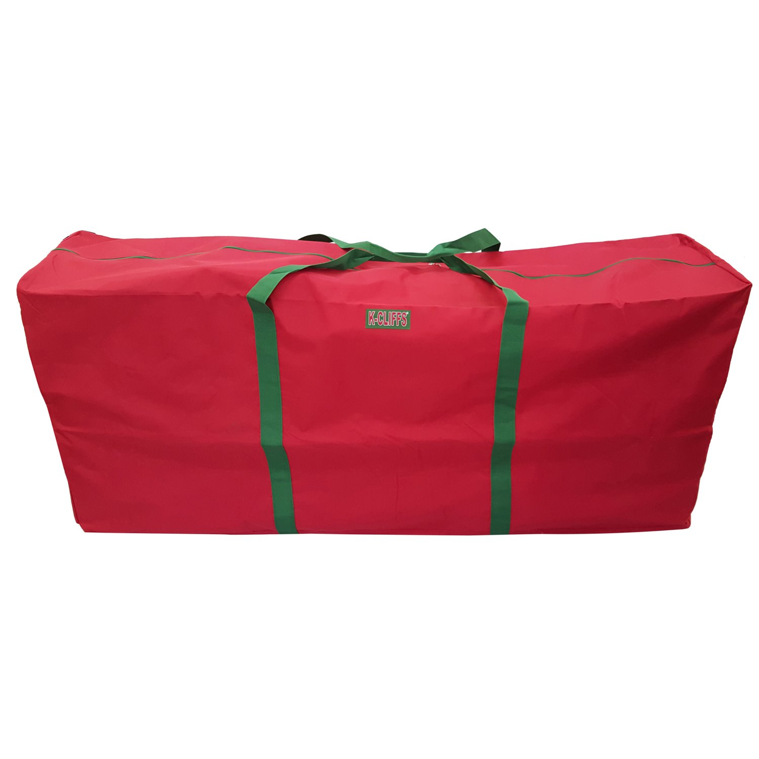 "Heavy Duty Christmas Tree Storage Bag Fit upto 7 Foot Artificial Tree Holiday Red Extra Large 48""x15""x20"""