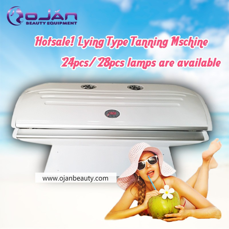 High Quality Germany UV lamps Body Tanning Bed /Solarium bed