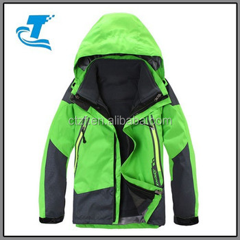 2016 Winter Warm Kids Sports Jacket Design Children Jacket Green ...