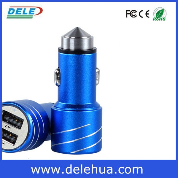 new gadget 12v 2.1A dual USB car charger for europ market car charger importer supplier distributor wholesale