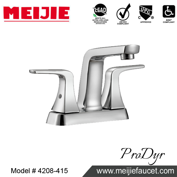 "2017 New Collection 4"" Centerest UPC Lavatory Faucet"