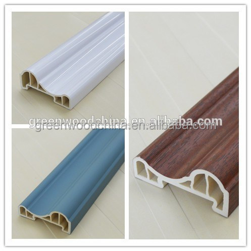 pvc material wall decoration 3d ceiling lines