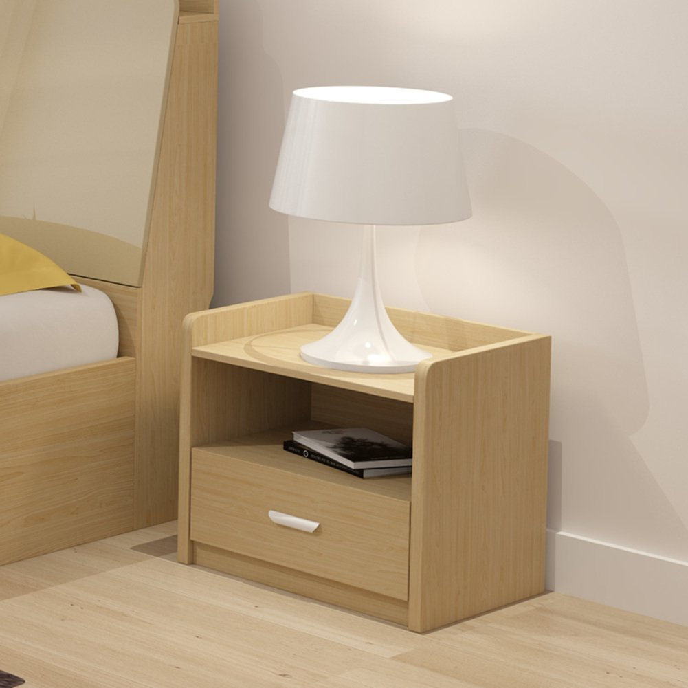 FJIWDTGYHFGT Nordic Bedside Table,Simple and Modern Simple Cabinet Locker Mini Bedside Drawer Small Storage Cabinet-B