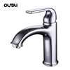 European style bathroom tall spout durable brass wash hand basin water tap design