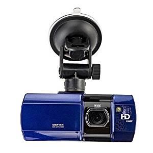 YoYoflyer Car DVR Vehicle On-Dash Video Auto Dash Camera Carcorder Black Box 1080P HD Ultra Wide 180 Angle Lens 2.7inch LTPS Screen Multi-language 8GB Memory Card Included