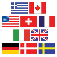 International flags land <span class=keywords><strong>flagge</strong></span>