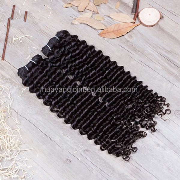 Free Shipping Wholesale Top Quality Deep Curly 100% Virgin Brazilian Human Hair 3 Bundles Hair Weaving With <strong>DHL</strong>