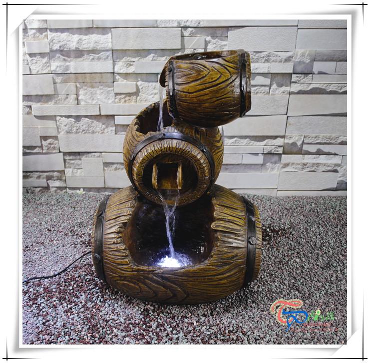 Decorativa de interior fuente de agua de imitaci n de for Fuente decorativa interior
