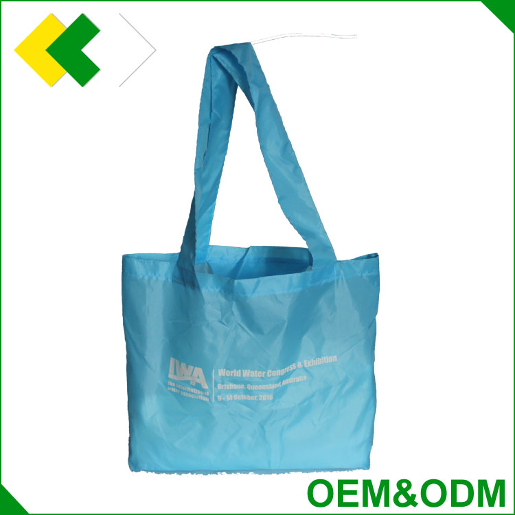 Hotsale item fashion style polyester shopping bag customized good quality 210d nylon promotional bags