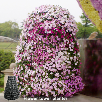 Alibaba & China Flower Pot Supplier Artificial Vertical Tower Wall Garden - Buy Vertical Tower GardenArtificial Vertical GardenVertical Wall Garden Product on ...