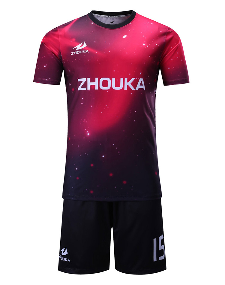 e36c141d094 Fashionable Summer Top Quality Football Jersey Uniform Unique And Stylish  Soccer Design