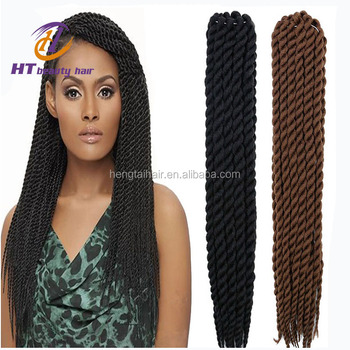 Havana Mambo Twist Crochet Braid Hair 3x Senegalese Synthetic Marley