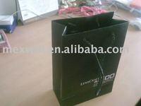 2011 matter lamination shopping paper bag rope handle