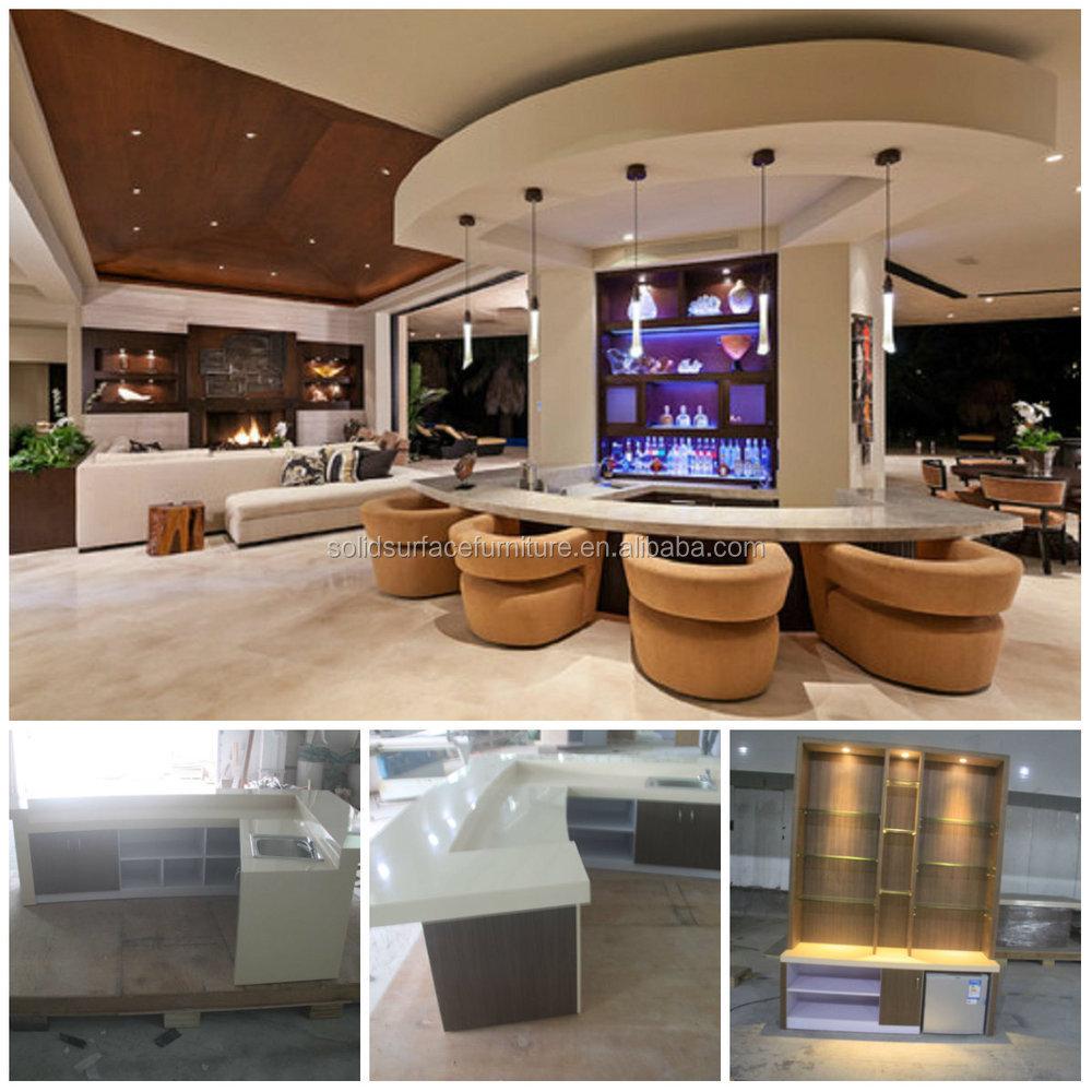 Modern Design Outdoor Portable Bar Restaurant Cashier Bar - Buy ...