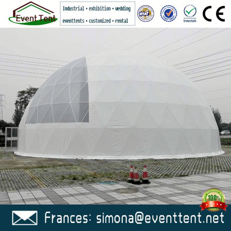 Fast Delivery play wind resistant geodesic dome tent for church