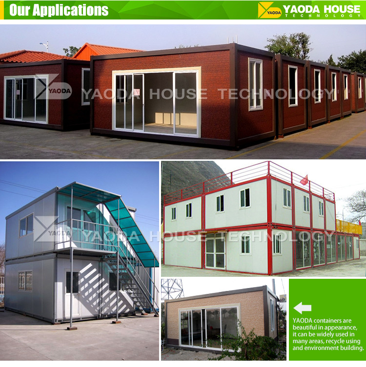 China Made Low Cost Container Homes Hot Sale Portable