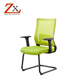 Conference chair with height adjustable armrest/Powded code meeting plastic mesh chair/Office chair component