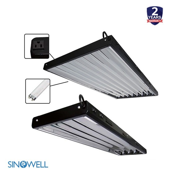 Hydroponics Grow Supplier SINOWELL Best Pricing t5 fluorescent lighting waterproof