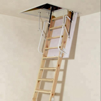 Solid Wood Attic Loft Ladder