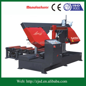 G4240/50S CE certificate horizontal band-saw machine manufacturer