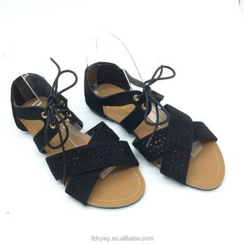 dd309008d4e716 2018 Fashion style Latest designed ladies flat slipper sandal wholesale  women shoes sandals