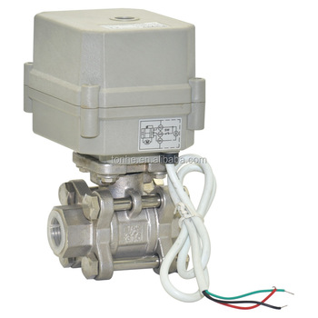 higher pressure motorized water ball valve