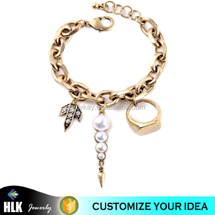 Bijoux Guangzhou Jewelry Wholesale Fashion Bracelet Jewelry Gold Plated Elephant Charm latest design gold bangles