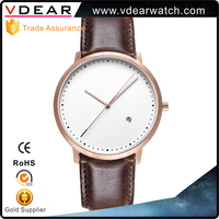 Watch Factory OEM Designer Make Your Own Watch Custom Logo japanese watch brands with genuine leather