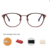 2019 Optical Frame Fashion Bingkai Logam Cermin Polos Optik Kacamata Khusus Anti-Blue Light Optik