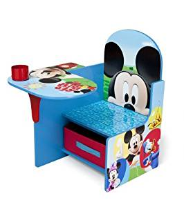 Delta Children Chair Desk With Storage Bin, Disney Mickey Mouse by Delta Children