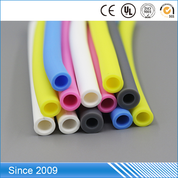 Rohs FDA certification Modified Medical Grade 5mm colored small diameter pvc pipe