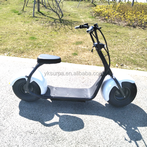 18 inch 60v 800w 1000w fat tire self balance e scooter/big power electric motorcycle