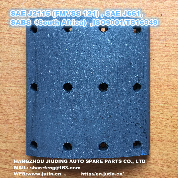 Professional manufacturer brake lining for frasle with high performance