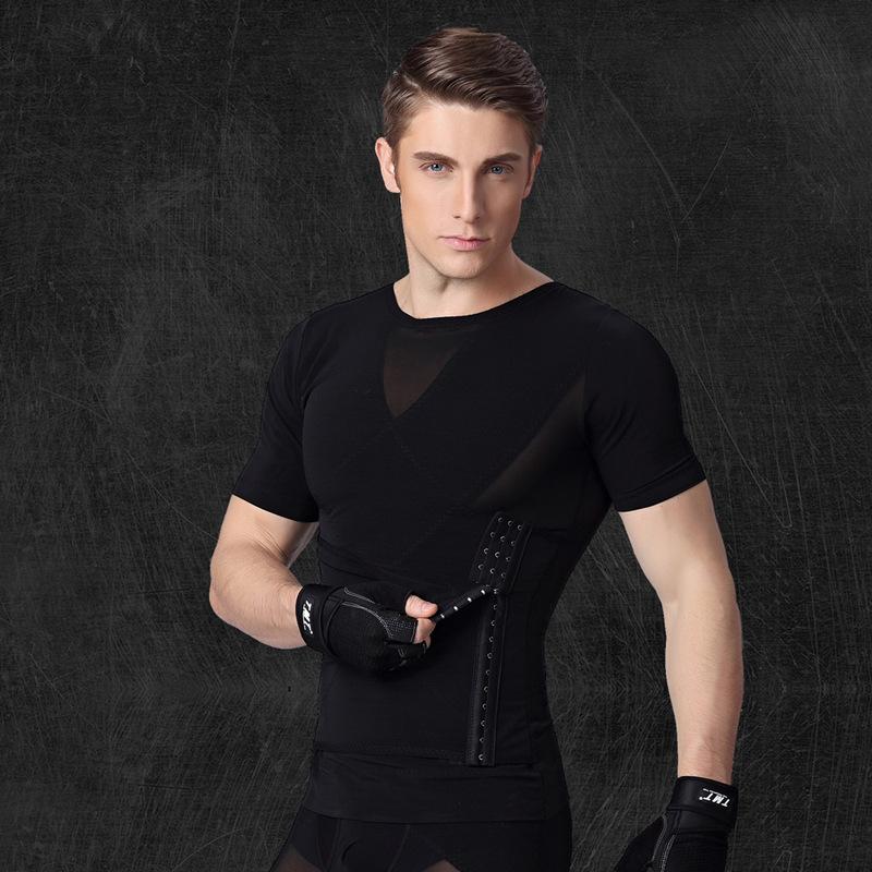 Custom Label Classic Custom Men Dry Fit T-shirt for Workout 3