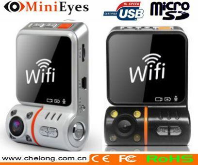 Newest Security Mate Wifi 3G wireless car dvr connect to dvd display