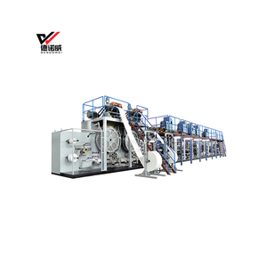 High speed full servo disposable adult diaper machine adult diaper making machine