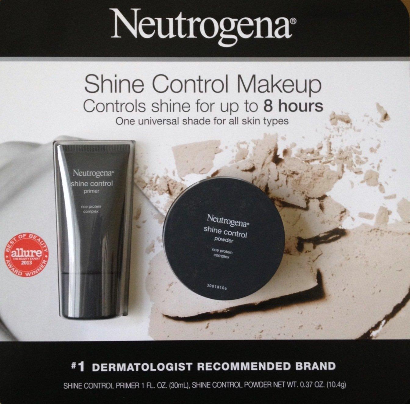 Neutrogena Shine Control Makeup package (Powder + Primer)
