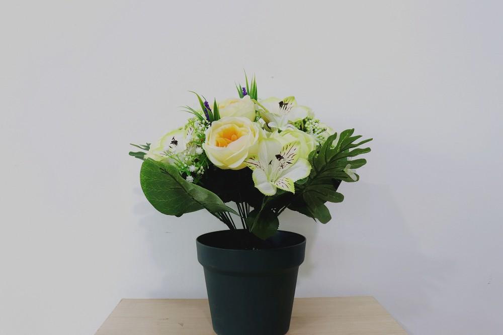 Fashion High Quality Wholesale Artificial Plastic Flowers Wedding
