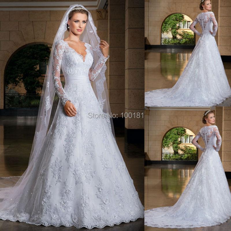 robe de mariage muslim wedding dresses bride vintage vestidos de boda vestidos de noche garden. Black Bedroom Furniture Sets. Home Design Ideas