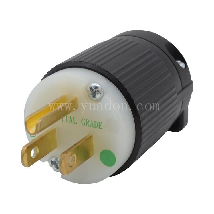 Hospital Grade Plug 15 Ampere 125 Volt Nema 5 15p Plug Medical
