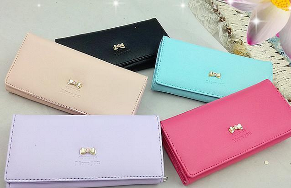 Lady new fashion long purse 2015 new design fashion women fancy wallet