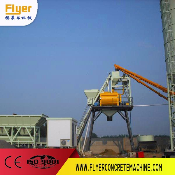 fully automatic ready mixed concrete mixing plant with capacity from 25m3/h to 240m3/h concrete batching plant