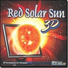 Brand New Dream Saver 3D Red Solar Sun 3D Screensaver High-Quality Animation Full 3D Environment