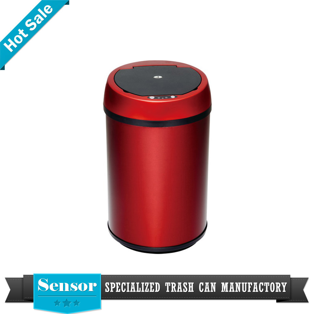 separate garbage big trash bin factory stackable smart touchless waste bin