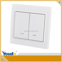 [TEKAIBIN] Dual wall smart led automation system types of electrical 220v z-wave dimmer wall swit