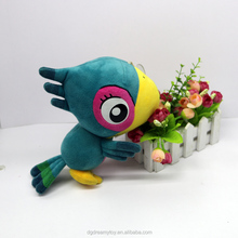 Eerste souvenir anime gevulde blue parrot bird best made pluche cartoon <span class=keywords><strong>speelgoed</strong></span>