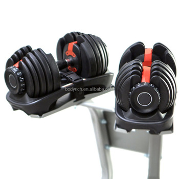 Kg adjustable weight set home gym exercise equipment dumbbell