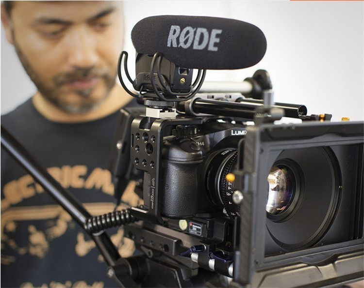 Rode Pro Microphone Stereo VideoMic For Canon Nikon For Sony Camcorder