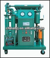 dewatering and degassing machine for insulating oil